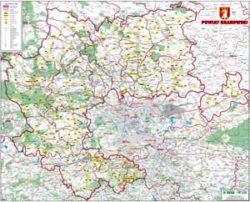 Mapa drogowa powiatu